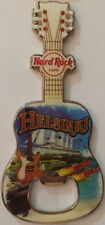 Hard Rock Cafe HELSINKI FINLAND Guitar MAGNET Bottle Opener City Tee T-Shirt NEW