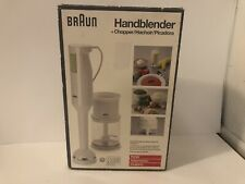 New In box  Braun Hand Blender And Chopper New Open Box