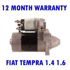 FIAT TEMPRA 1.4 1.6 1990 1991 1992 1993 - 1996 REMANUFACTURED STARTER MOTOR