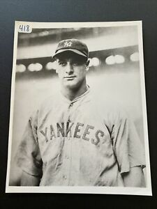 Lou Gehrig NY Yankees- Game Day-Type 2 Photo