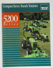 Deutz Allis 5200 Series Tractor Brochure