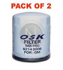 OSAKA Oil Filter Z160 - For Holden Commodore VG VN VP VR VS VT - Box of 2