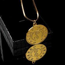 Original Bruce Lee Necklace Pendant Medallion Collection 24K Gold Plated