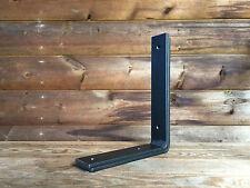 Metal Shelf Brackets 180mm Scaffold Board Industrial Steel Shelving (Set of 2)