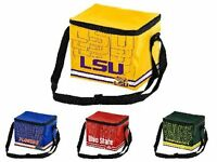 NCAA Team Logo 6 Pack Impact Cooler Lunch Bag - Pick Team