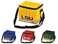 NCAA Team Logo 6 Pack Impact Cooler Lunch Bag - Pick Team