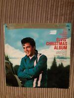 Elvis Presley Christmas Album UK Mono Green RCA International Vinyl LP