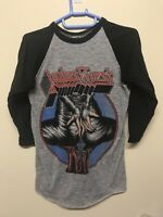 VINTAGE JUDAS PRIEST Defenders Concert Tour 1984 T shirt Keep The Faith Small 84