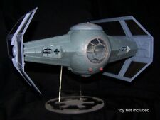acrylic display stand for Hasbro POTF Darth Vader Tie Fighter