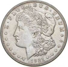 1921-D Morgan Silver Dollar - Last Year Issue 90% $1.00 Bullion *763