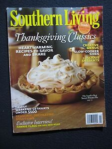 Southern Living (November 2010) (Volume 45, Number 11) [Single Issue Magazine]..