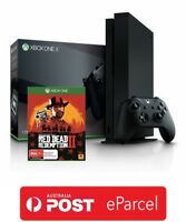 Microsoft Xbox One X 1TB Console Bundle Red Dead Redemption 2 - Brand New Sealed