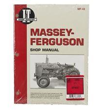 I&T Shop Manual for Massey Ferguson MF255 MF265 MF270 MF275 & MF290