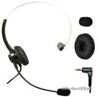 Corded Headset + 2.5mm Plug for Cisco Linksys SPA303 501 502 509 921 922 941 942