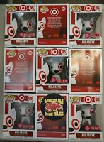 Funko Pop | Ad Icons #05 Bullseye Flocked Target Exclusive | In Hand DAMAGED