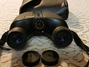 BAUSCH & LOMB 12-8240 8X24 COMPACT BINOCULARS IN CASE with belt loop
