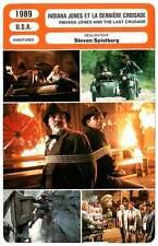 FICHE CINEMA : INDIANA JONES ET LA DERNIERE CROISADE - Spielberg1989Last Crusade