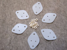 US.Seller Set of  TO-220 heat sink Washer /w TO-3 Silicon Insulation Pad 18pcs