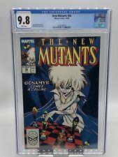 New Mutants #68 CGC 9.8 White Pages Marvel Comics (1988)