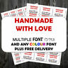 Business Labels Customised Sticker Self Adhesive 21 Or 65 Per Sheet