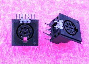 8-pin Female, DIN Connector,