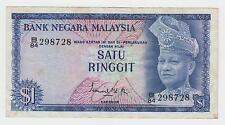 Malaysia banknotes - Satu Ringgit - 1 $ - One Dolars - Bank Negara Malaysia !