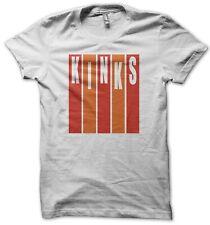 The Kinks Men's White T-Shirt S-XL