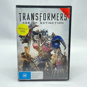Transformers: Age Of Extinction (DVD, 2014) Region 4 With Mark Wahlberg VGC