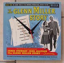 """Glenn Miller Story-Soundtrack Album Clock*10""""*Great Gift!*Free Shipping!-"""