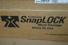 Case (93) Blue Tuscan Dual K SnapLock Micro Cartridge 16mm Microfilm ANSI C-Clip