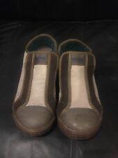 Diesel Men's Cream/brown Slip On Shoes Uk 7 Euro 40.5
