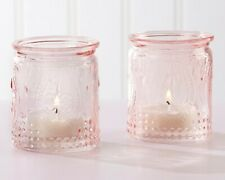 Kate Aspen Vintage Tea Light Holders Pink - 24 Total