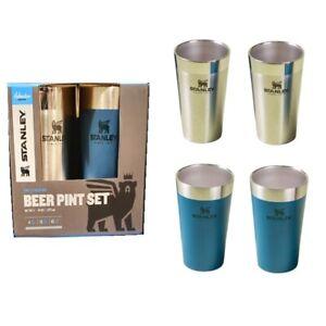 Stanley Adventure Stacking Beer Pint 473ml/16oz Sets 4ea Stanless Steel Cup Camp
