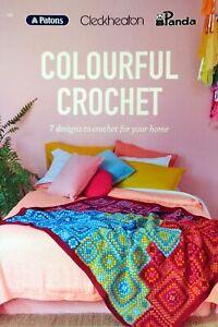 COLOURFUL CROCHET Book 108 - Patons / Panda / Cleckheaton 8 Ply