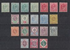 Lot:36542  GB EDVII  Jubilee style Issue 1/2d to 1s mounted mint set