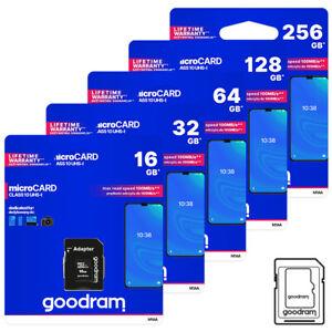 Speicherkarte 16/32/64/128/256GB Class 10 für Smartphone Handy Kamera Nintendo