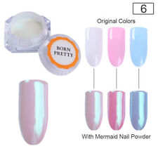 Mermaid Nail Art Powder Dust Pearl Shell Glimmer Pigment Shimmer Manicure Tip #6