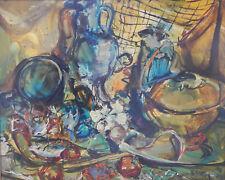 Pamboujian Gerard - Nature morte- Huile sur toile v3