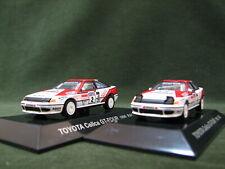 1:64 CM's TOYOTA CELICA GT-FOUR (ST165) 2Car set 1990 WRC RAC Rally #2 C.Sainz