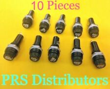 Panel Mount Chassis Fuse Holder Base 6x30mm Glass Fuse Screw-Off Type 10 Pieces