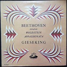 BEETHOVEN SONATAS - WALTER GIESEKING VINYL LP U.S. PRESSING
