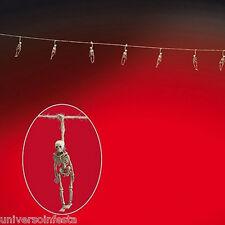 Festone per HALLOWEEN con scheletri a pendente lungo cm 200