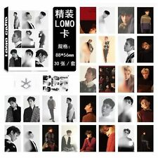 Lomo Card 30pcs set EXO Collective Oh Se Hun LAY Personal Photo Picture Poster