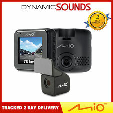 """Mio Mivue C380 DUAL 2"""" Display Screen 1080p Full HD Front and Rear Cam"""