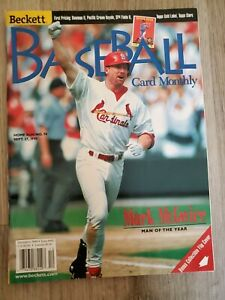 Beckett Baseball Card Monthly December 1998 Issue #165 - Mark McGwire