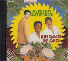 Alfredo Gutierrez Binomio De Oro CD Nuovo Nuevo