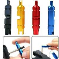 Bike Bicycle MTB Valve Core Multi-Function Wrench Screwdriver Remover Tools