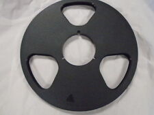 "NEW NAB Plastic Take Up Reel Master 1/4"" NO Tape 10.5"" Empty No Flange Metal"