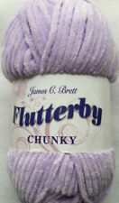 James C Brett Flutterby Chunky 100g Ball Shade B10