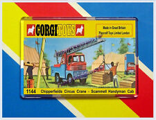 CORGI TOYS 1144 CHIPPERFIELD CIRCUS CRANE NEW JUMBO FRIDGE / LOCKER MAGNET